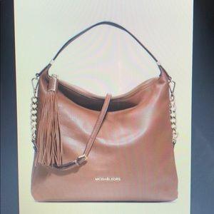 Michael Kors Bedford Tassel Pebbled shoulder bag